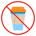 coffee, cup, garbage, no, plastic