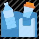 bottle, garbage, plastic, pollution, water
