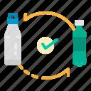 bottle, eco, plastic, replace, reuseable