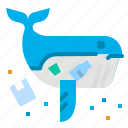 dead, garbage, plastic, waste, whale