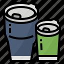 cup, ecology, mug, reusable icon