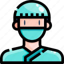 avatar, doctor, man, people, surgeon, user