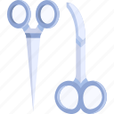 clinic, health, medical, scissors, surgery, surgical icon