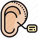 ear, otoplasty, prominent, reshaping, surgical icon