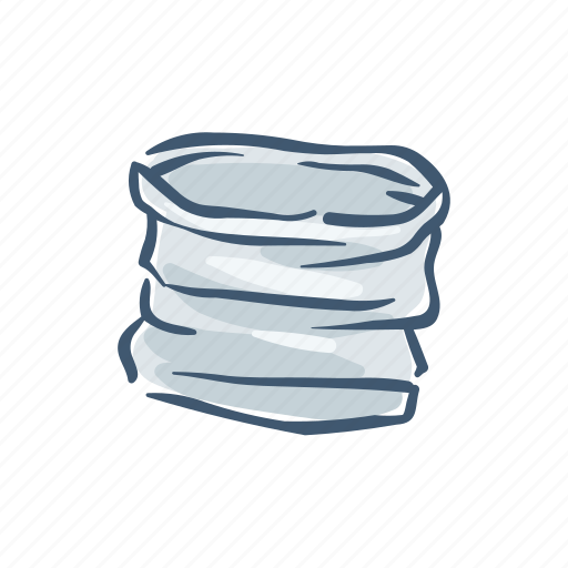 Bag, container, disposable, plastic, pollution, trash, waste icon - Download on Iconfinder