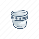 cup, disposable, garbage, plastic, pollution, trash, waste icon