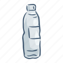 bottle, disposable, garbage, plastic, pollution, trash, waste icon