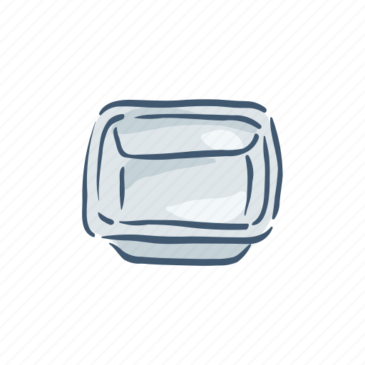 container, disposable, plastic, pollution, recycle, trash, waste icon