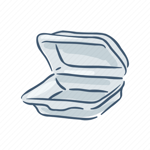 container, disposable, garbage, plastic, pollution, trash, waste icon