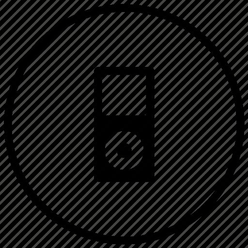ipod, media, mp3, multimedia, music, player, sound icon