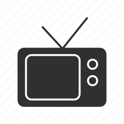 cable, digital, television, tv icon