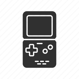 folding gameboy, game boy, game console, gameboy, gaming icon