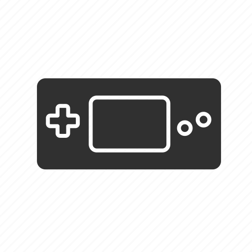 digital game, game console, gameboy, nintendo icon
