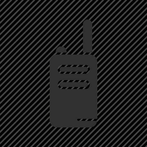communication, radio, radio transceiver, walkie talkie icon