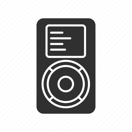 apple, audio player, ipod, mp3 player icon