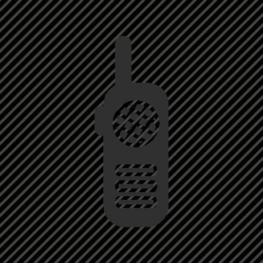 communication, handheld transceiver, radio, walkie talkie icon