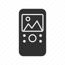 ipod, multimedia, radio, video player icon