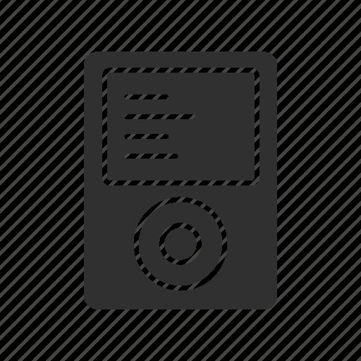 ipod, ipod mini, mp3 player, original ipod icon