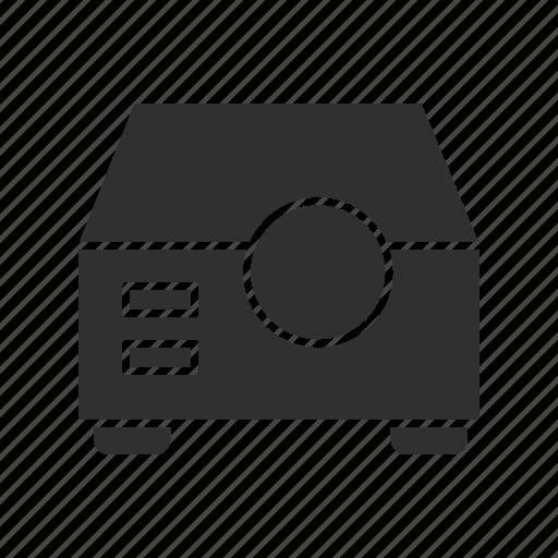 digital projector, multimedia, projector, video projector icon