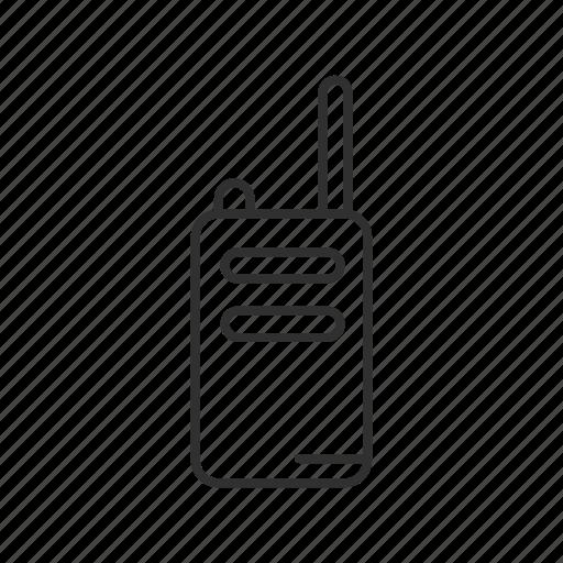 communications, hand held radio, radio, radio transceiver, walkie talkie icon