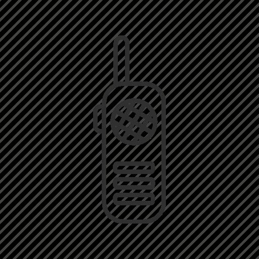 communications, hand held radio, handheld transceiver, radio, radio transceiver, walkie-talkie icon