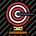 archer, darts, sport, target