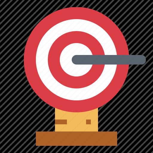 archer, darts, sport, target icon
