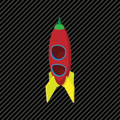 activity, amusement, block, cartoon, child, playground, rocket icon