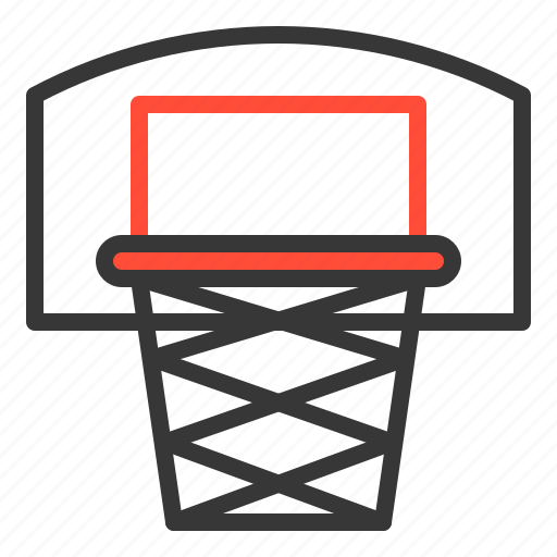 basketball, basketball goal, outdoors, play, playground, sport icon