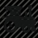 child, childhood, fun, kid, locomotive, park, train icon