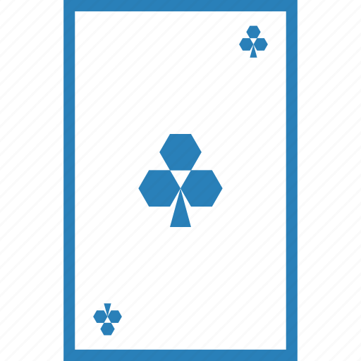 card game, clover, clubs, gamble, luck, playing cards, poker icon