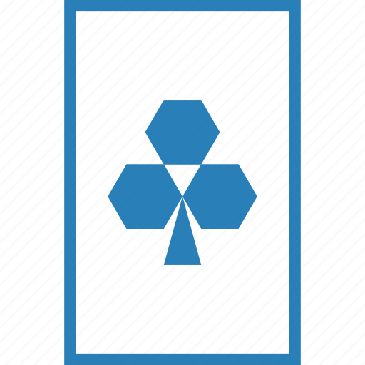 card, clover, clubs, gamble, gambling, luck, playing icon