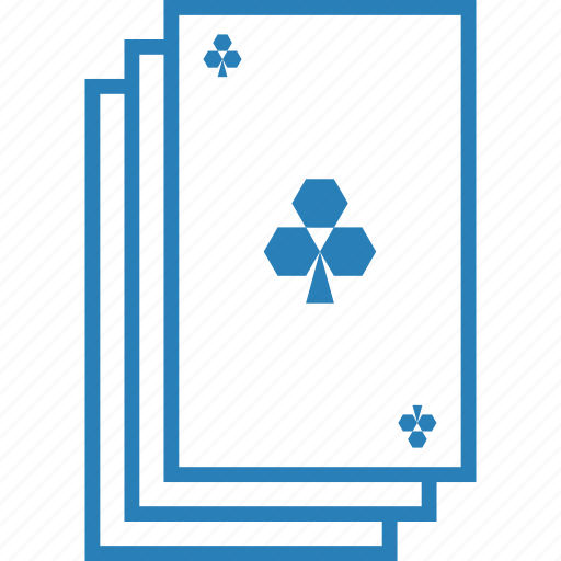 clover, clubs, deck, gambling, playing cards, poker, suit icon