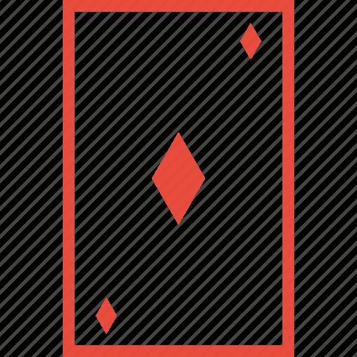 card, diamond, gambling, game, playing cards, poker, tile icon