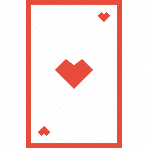 card game, casino, gamble, heart, hearts, playing cards, poker icon