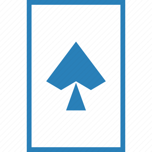 card, casino, gamble, game, pike, playing cards, spade icon