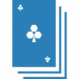 card game, casino, clover, clubs, gambling, playing cards, suit icon
