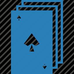 casino, gambling, pike, playing cards, poker, spade, suit icon