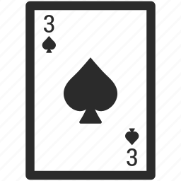 blackjack, card, casino, gambling, poker, spade card icon