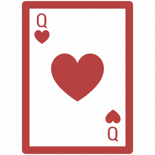 ace poker, blackjack, casino, gambling, poker, queen, spades card icon