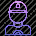 man, pipe, plumber, plumbing, water icon