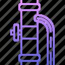 leakage, pipe, plumber, plumbing, water icon