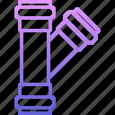 pipe, plumber, plumbing, water icon