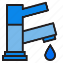 plump, tools, water icon