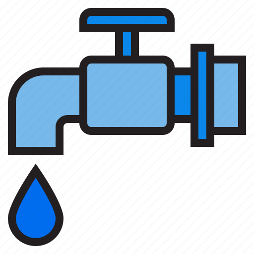 faucet, plump, tools, water icon