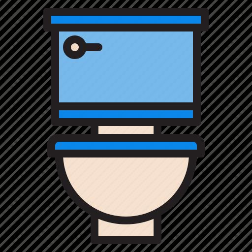 plump, toilet, tools, water icon