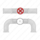 device, pipe, plumbing, pressure gauge, tap, valve icon