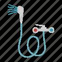 equipment, faucet, hose, mixer, plumbing, shower icon
