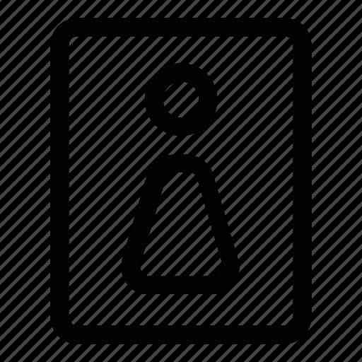 bathroom, closet, toilet, wc, woman icon