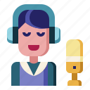 podcast, streaming, microphone, communications, speech, mic